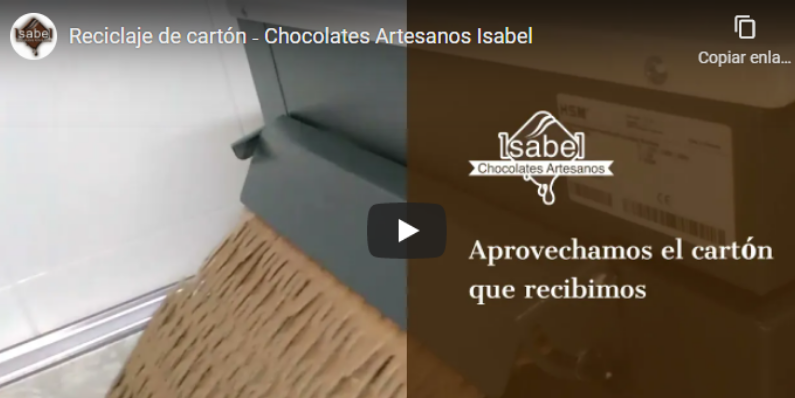envasado sostenible | Chocolates Artesanos Isabel