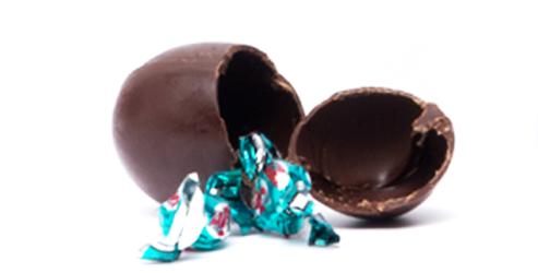 Huevos de chocolate sorpresa