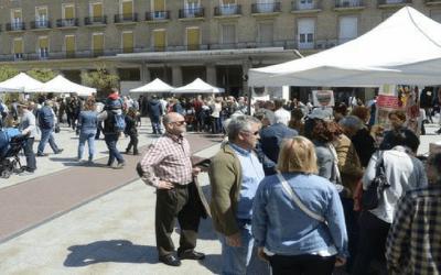 Chocolates Artesanos Isabel en la Lonja del Comercio Justo de Zaragoza