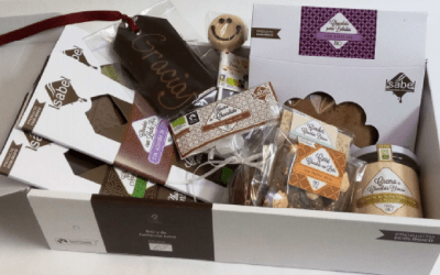 Lotes navideños de chocolates bio en nuestra tienda online