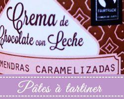 Pâtes à tartiner Chocolates Artesanos Isabel