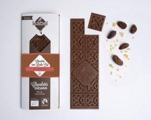 Chocolate con Leche BIO con petazetas