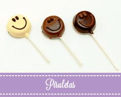 Piruletas Chocolate artesano