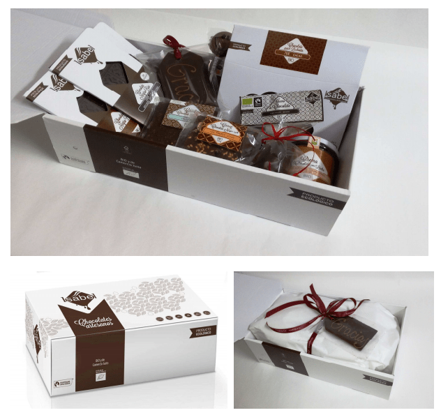 Lotes de chocolate bio para regalar por san valentín