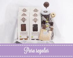 Chocolate artesano para regalar