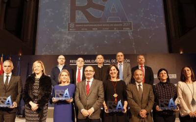 Recibimos el Premio a la Responsabilidad Social de Aragón