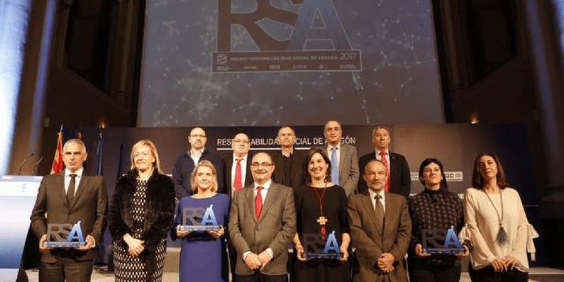 Premios a la Responsabilidad Social de Aragón (RSA) 2017
