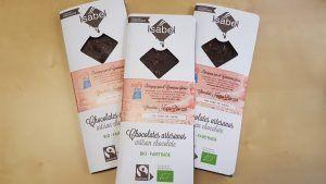 tableta de chocolate FAS