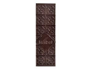 Tableta de chocolate negro con aceite de oliva y sal