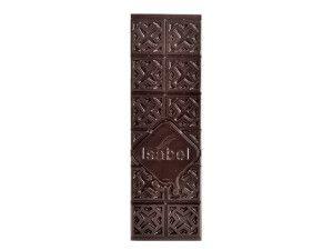 Tableta de chocolate negro con especias