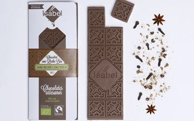 Nueva tableta de chocolate: leche bio, quinoa y cinco especias chinas