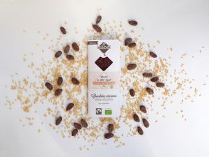 Chocolate bio leche arroz