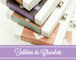 Tabletas de chocolate artesano