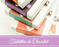 Tablettes de chocolat Chocolates Artesanos Isabel