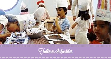 Talleres infantiles de eleboración de chocolates
