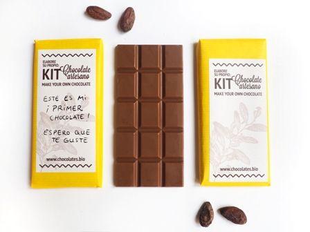 KIT DIY Haz tu propio chocolate desde el haba de cacao
